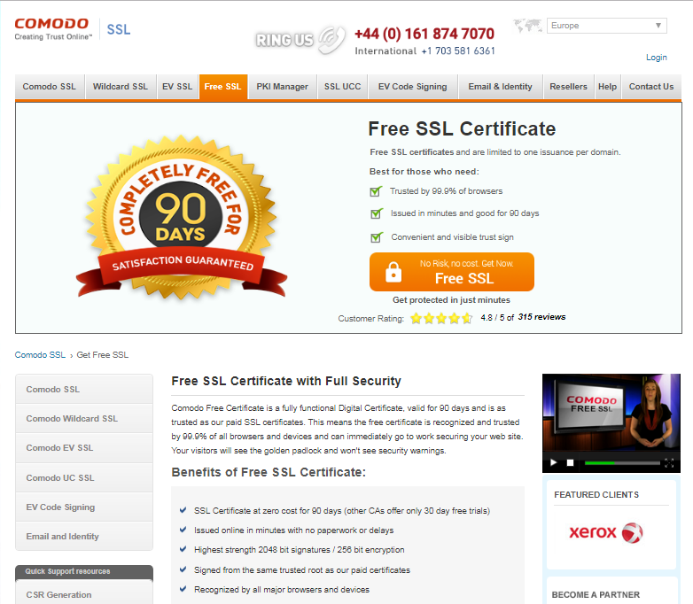 Ssl Free Certificates Create Your Ssl Certificates For Free